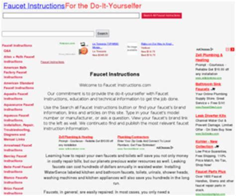 Faucetinstructions.com: Faucet Instructions   Faucet
