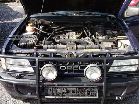 opel frontera engine 1996 opel frontera 2 5 tds 4x4 esd ahk air long car