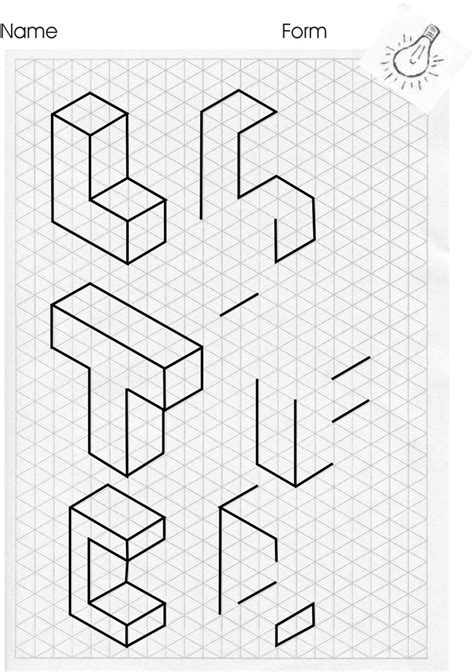 C Drawing Shapes by Isometric Drawing Like Repin Noelito Flow Noel Panda