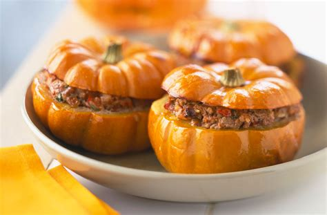 pumpkin foods mini stuffed pumpkins tesco real food