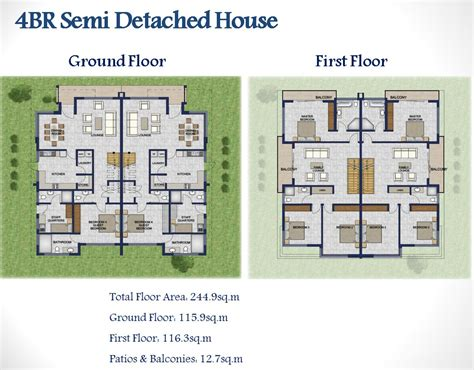 detached house plans semi detached house plans nigeria home design and style
