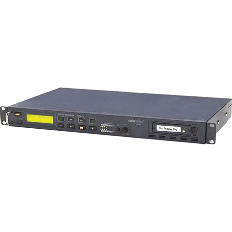 Hdd Recorder used datavideo hdr 70 hdd recorder for sd hd sdi hdr70 b h photo
