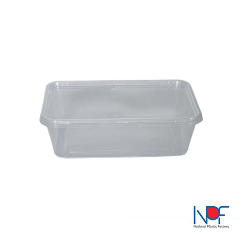 Container Thinwall Microwaveable 500ml thin wall food container microwavable 1000 ml rectangular lt model national plastic factory