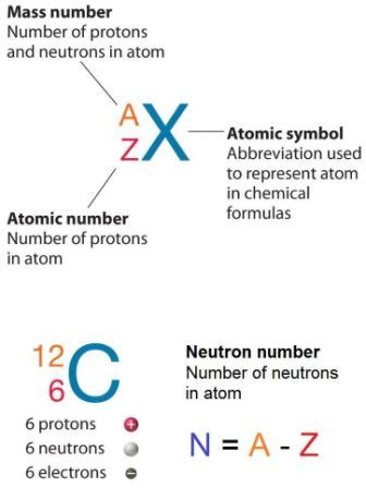 neutron number