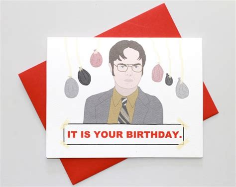 Dwight Schrute It Is Your Birthday Card Dwight Schrute It Is Your Birthday Card Redditgifts