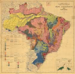 geologic map of brazil painting abstract for safekick