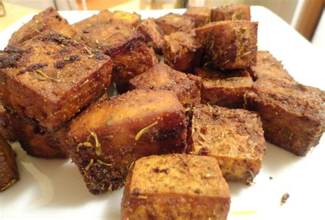 the quot v quot word baked tofu