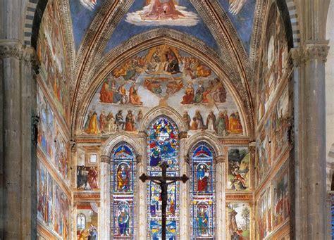 cappella santa fiore xii la cappella tornabuoni storie d arte