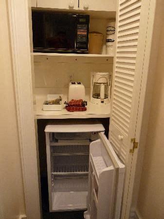 mini kitchen in bedroom coconut beach resort coffee maker in the bedroom and
