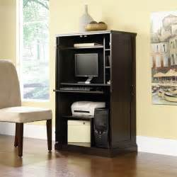 sauder computer armoire finishes walmart