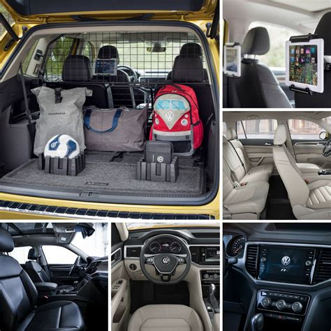 volkswagen atlas interior 2018 volkswagen atlas interior photos