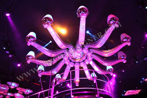 Led Rgb Large Disco Chandelier Disco Chandelier