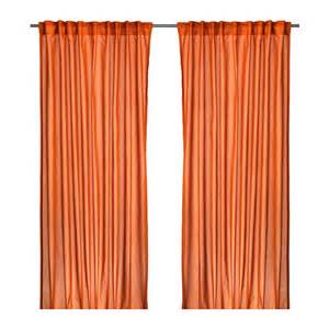 Ikea Drapery Vivan Curtains 1 Pair Ikea