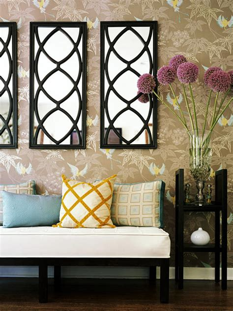 ideas  home decorating  mirrors