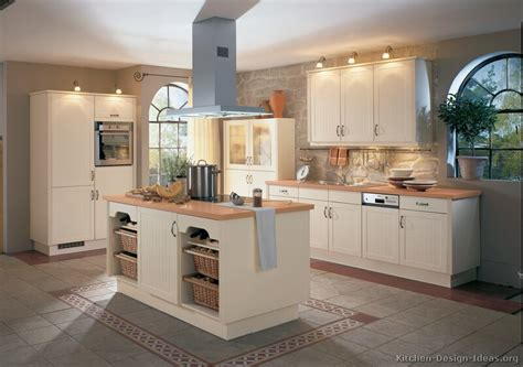 kitchen countertops with white cabinets pictures of kitchens traditional white antique