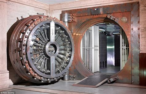 open door a safe deposit entrance at the midland bank in poultry with a 25 ton vault doo