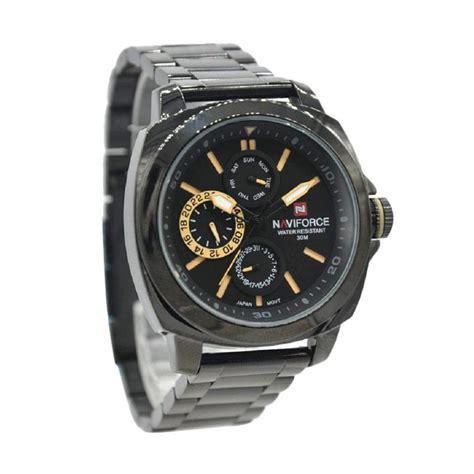 Jam Tangan Naviforce Nf 9069 jual naviforce stainless steel jam tangan pria nf9069m