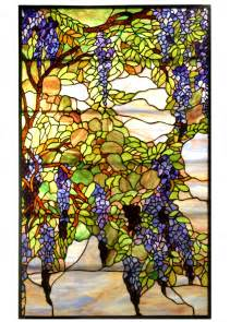 Styles For Home Decor meyda 68442 tiffany wisteria amp snowball stained glass window