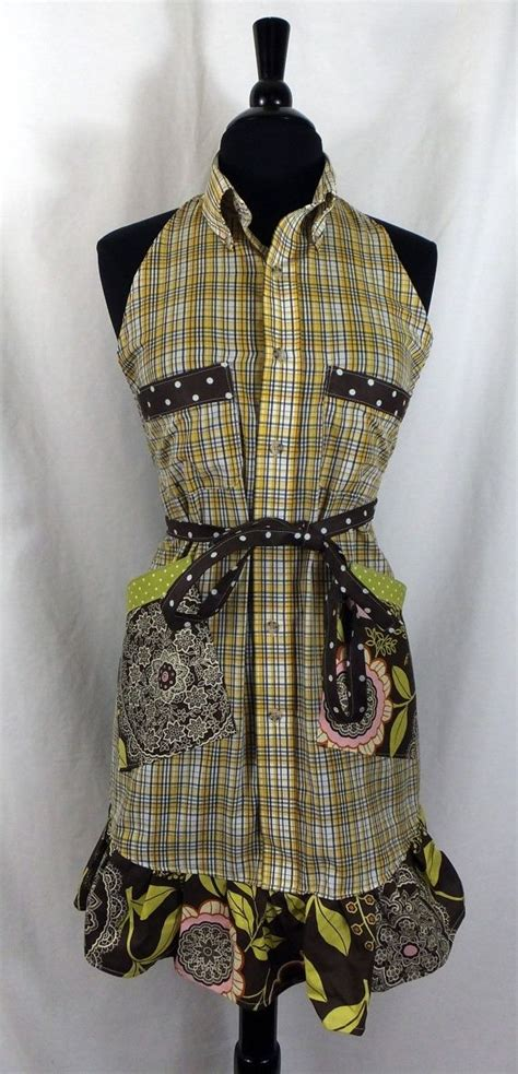 pattern for shirt apron 2211 best aprons so nice images on pinterest sewing