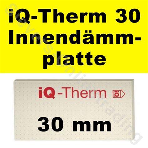 Paket Cm Flek By Inn Shop 10 08 m 178 remmers iq therm 30 14 stk innend 228 mmplatte 1