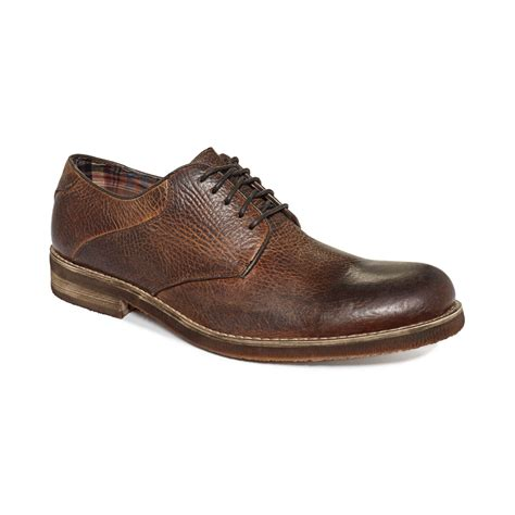 bed stu shoes mens bed stu luz oxfords in brown for men tan iceland lyst