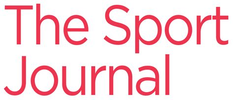 sporting journal the sport journal refereed sports journal published by the united states sports academy