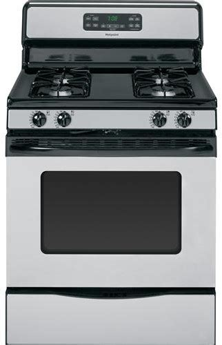 bottom drawer on electric oven hotpoint rgb780rehss 30 inch freestanding gas range with 4
