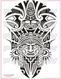 priest tattoo designs awesome tribal priest design aztec ideas