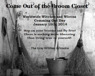 Coming Out Of The Broom Closet by The Domestic Witch Worldwide Witches And Wiccans Coming