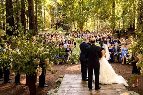 wedding venues in redwoods 2 a executive s rustic northern california wedding inside weddings