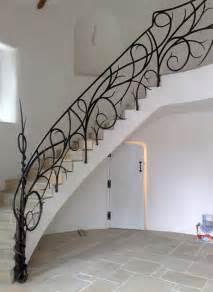 Decorative Banisters by Unique Wrought Iron Banister Ideas Inspired By Nature