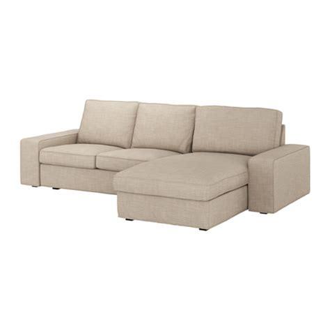 kivik divano kivik divano a 3 posti con chaise longue hillared beige