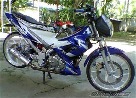 Lu Tembak Satria Fu motor modification satria fu modification 2013
