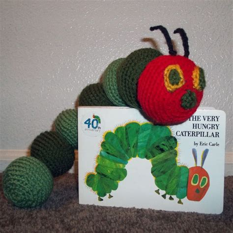 crochet pattern very hungry caterpillar amigurumi the very hungry caterpillar
