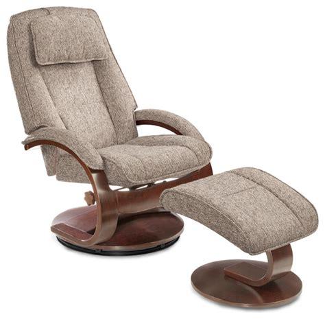 recliner with ottoman fabric teatro graphite fabric recliner with ottoman