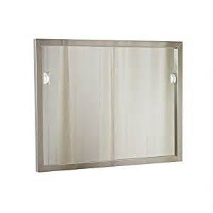 Medicine Cabinet Door Replacement Economy 25 Quot W X 19 Quot H Direct Fit Sliding Door