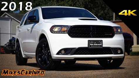 2018 durango black 2018 dodge durango gt blacktop ultimate in depth look in