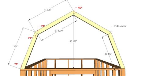 How To Build Gambrel Roof small shed plans with loft bolk