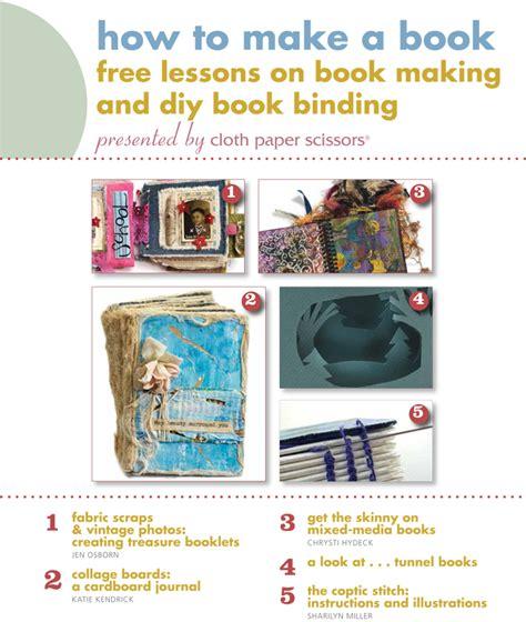 How To Make Handmade Books - handmade books learn how to make a book using mixed media