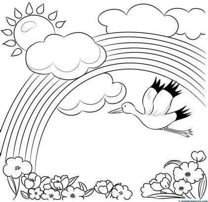 imagenes para colorear de paisajes 506 best images about kids pre writing coloring pages on