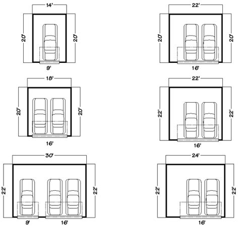 Garage Door Width Door Dimensions Image For Openinggarage Door