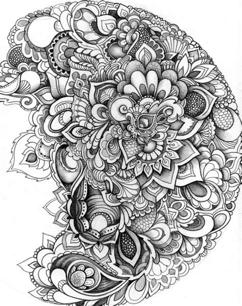 Drawing Zentangle by Doodle4 Zentangles Doodles Flower Mandala