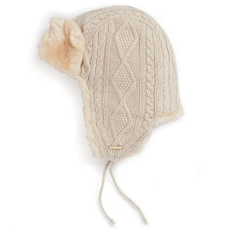 knit trapper hat burch cable knit trapper hat 175 chilly