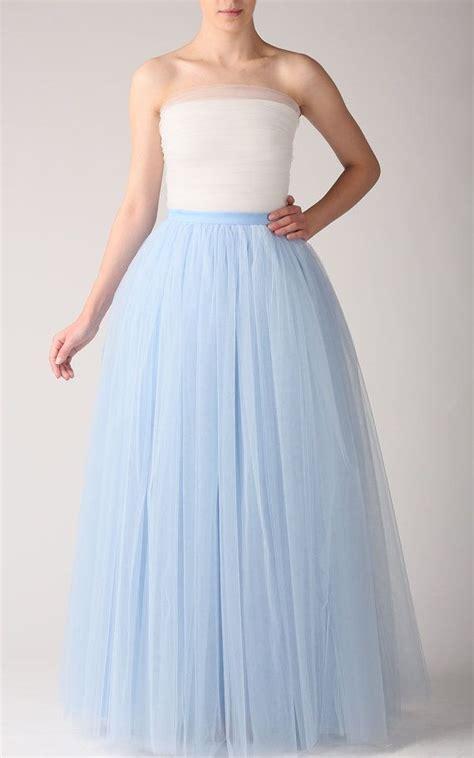 Tutu Maxy maxi tutu tulle skirt maxi petticoat baby blue tutu by