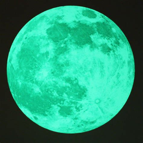 glow in the moon wall sticker moon glow in the moonlight large wall stickers space