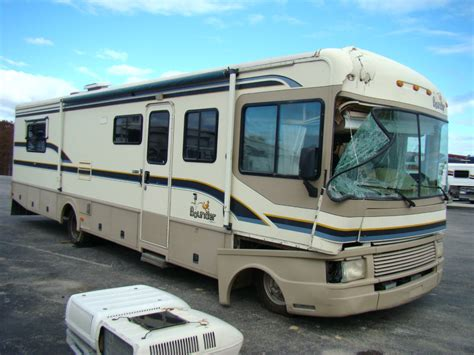 Motorhome Replacement by Rv Exterior Panels 1996 Fleetwood Bounder 34j Rv