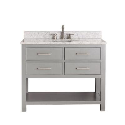 42 Vanity Cabinet Only by Avanity 42 In Vanity Cabinet Only In Chilled Gray