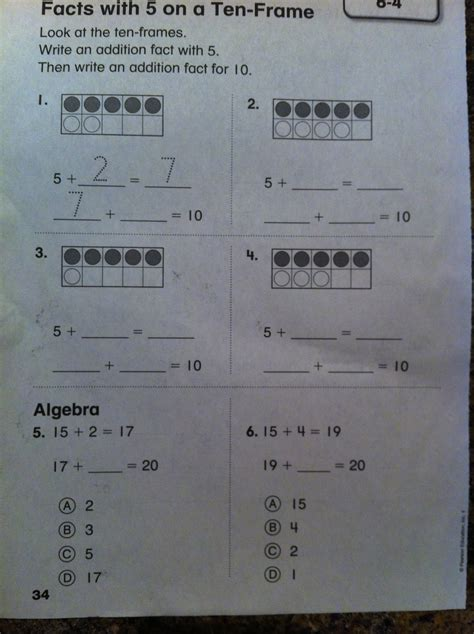 Envision Math 3rd Grade Worksheets by Questions About An Envisionmath Worksheet Part 1