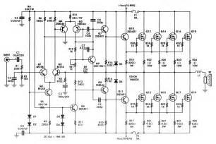 transistor vs mosfet lifier 400w high power mosfet lifier circuit diagram