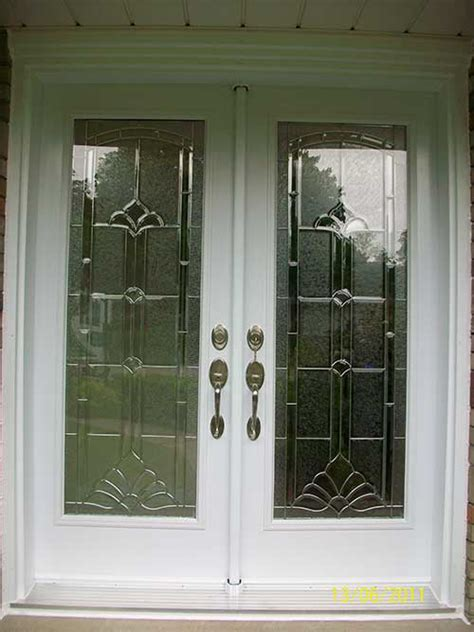 Glass Doors For Front Entrance Stained Glass Exterior Doors Front Entry Doors